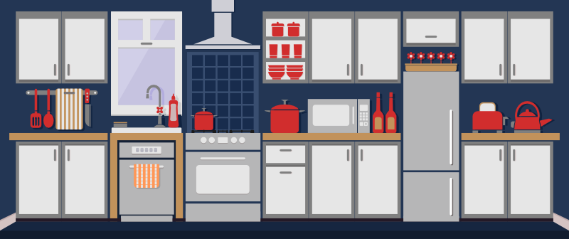 Outfit Your First Kitchen for Less than $200