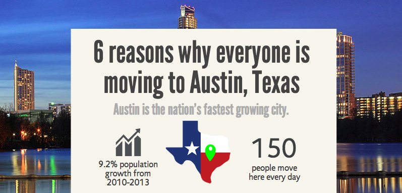 Why Austin is THE Hot Destination to Move to