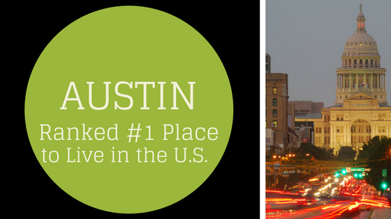 Austin Named Best Place to Live in the U.S.