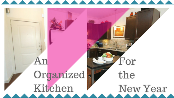 Kitchen Organization for the New Year