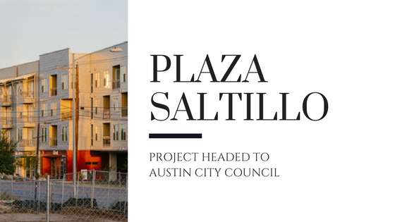 Plaza Saltillo Plan Heads to Austin City Council