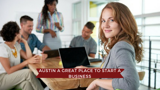 Austin Named One of the Best Places to Start a Business