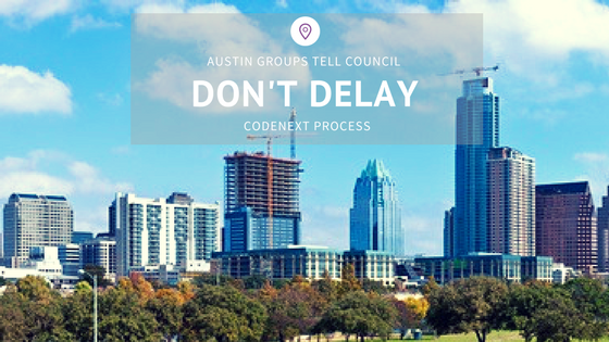 Austin Groups Tell Council: Don't Delay CodeNEXT