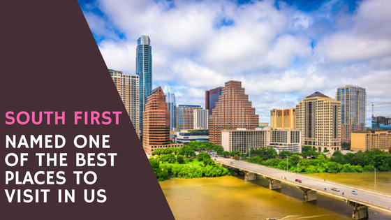 South First Named One of the Best Places to Visit in the US