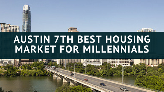 Austin Named 7th Best Housing Market for Millennials by Trulia